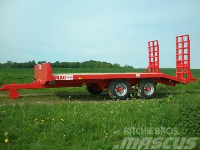 MAC 7 tons maskintrailer