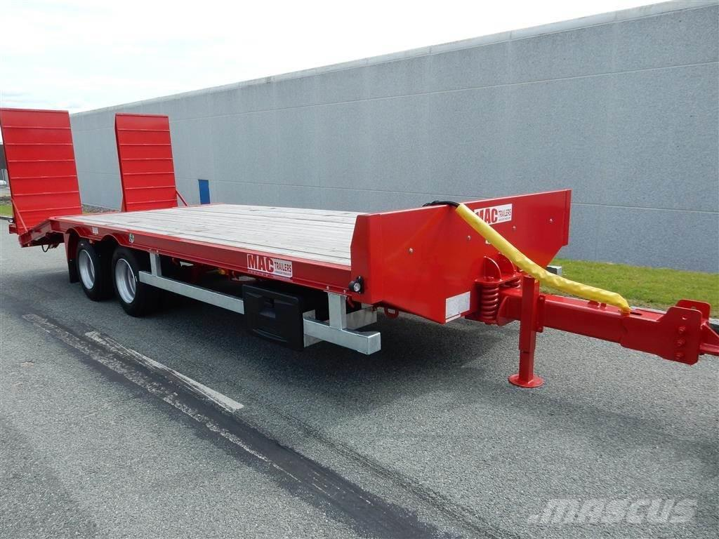 MAC 16 tons maskintrailer LOADED