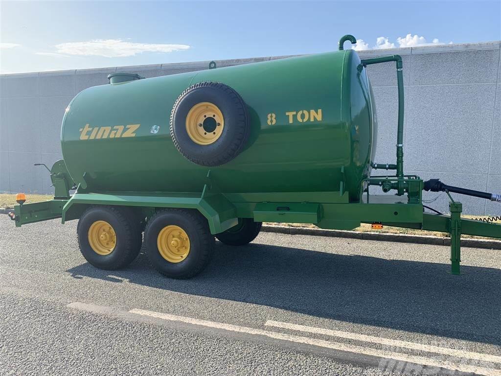 Tinaz 8000 liter vandvogn
