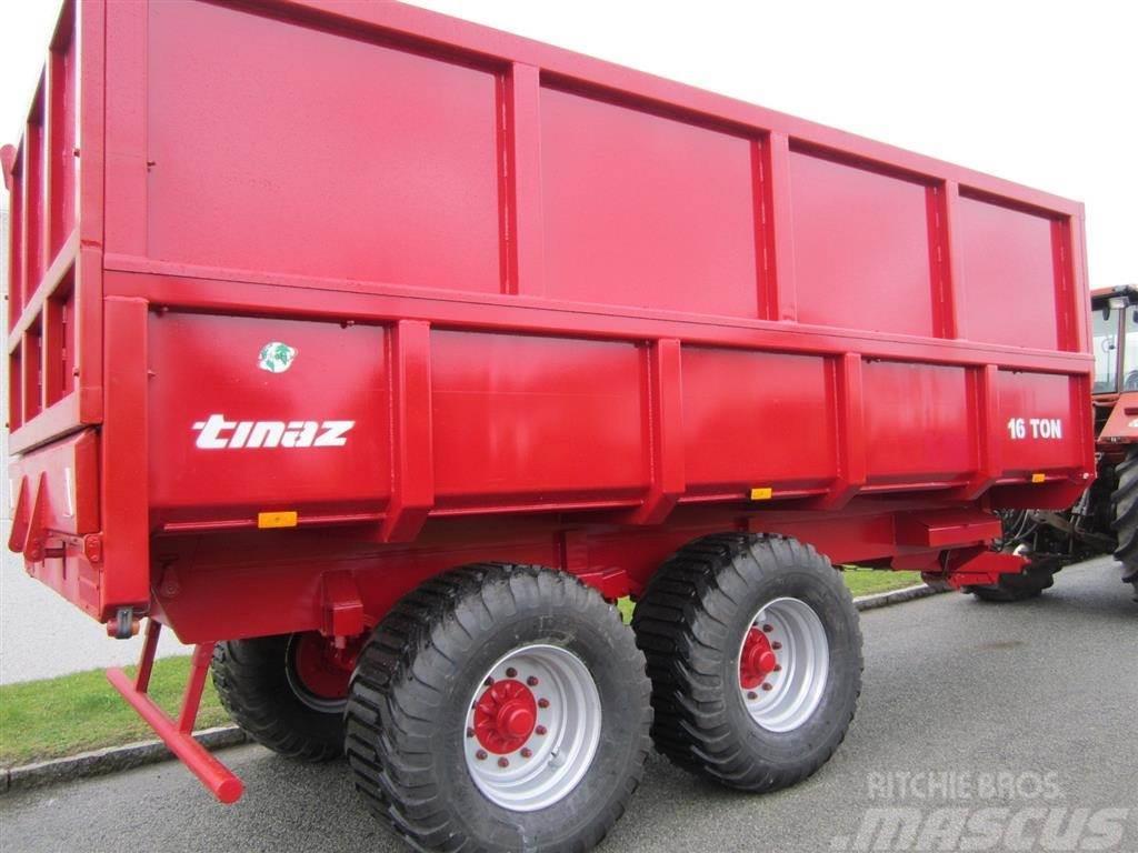 Tinaz 16 tons dumpervogne med kornsider, Kombivagnar