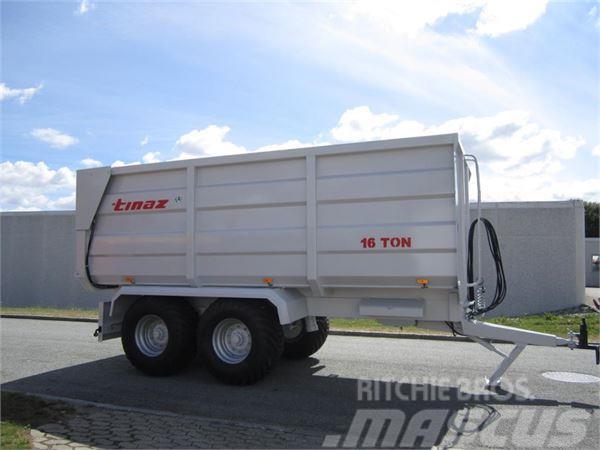 Tinaz 16 tons bagtipvogne