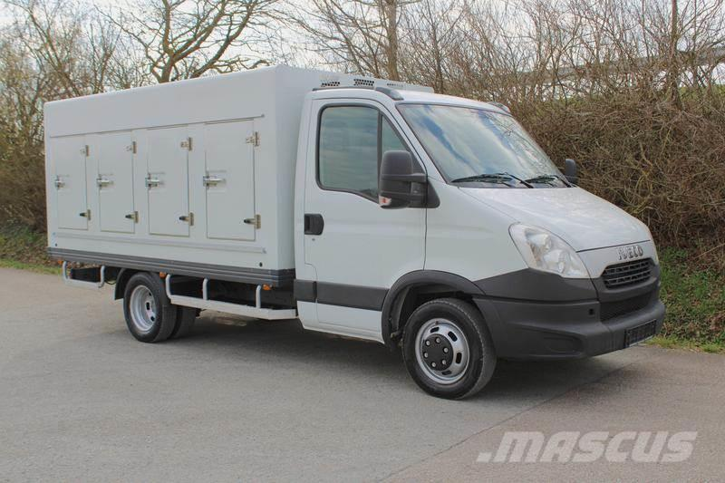 Iveco Daily50C17 ColdCar 4+4 -33°C Nutzlast 1.7 t