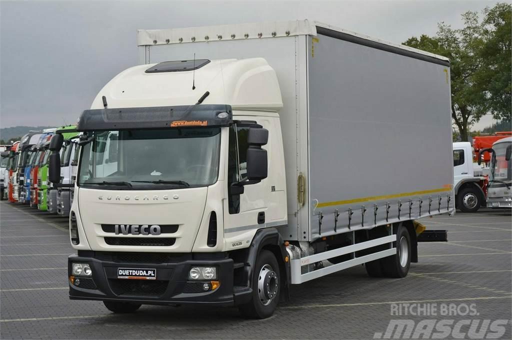 Iveco Eurocargo 120E25 Euro 6 Firana + Suwany Dach