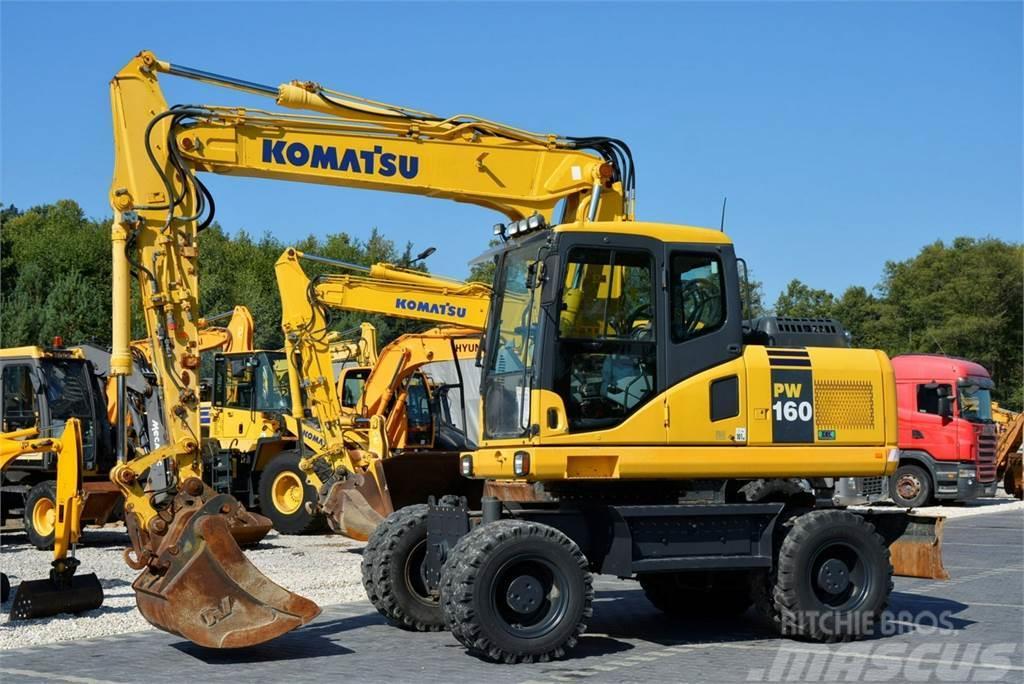 Komatsu PW 160 -7E0 / 16 Ton / Pług