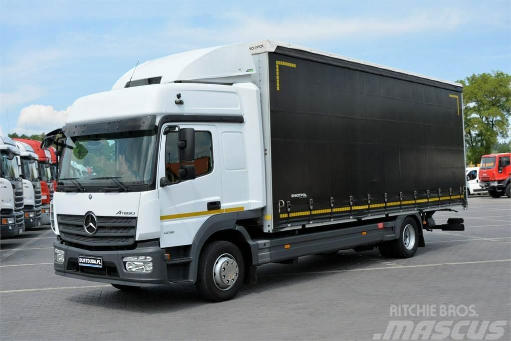 Mercedes-Benz ATEGO Euro 6 / Firana 18 e-palet