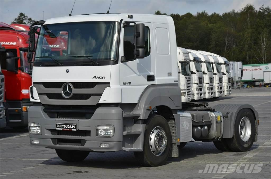 Mercedes-Benz AXOR 1840 E5 Manual Nowa Hydraulika