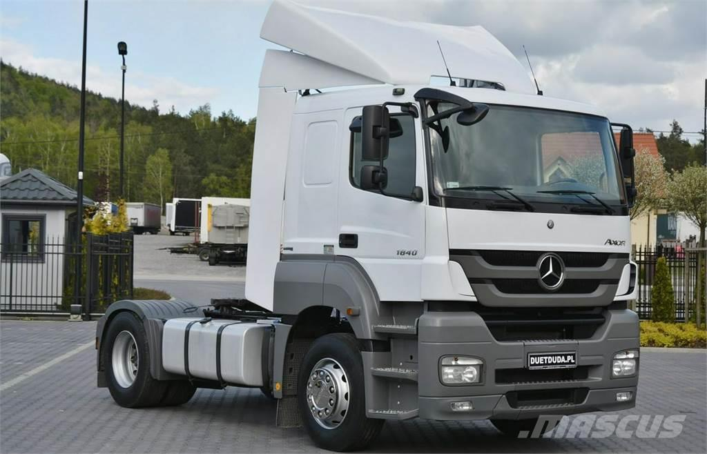 Mercedes-Benz AXOR 1840 / Euro 5 / Manual / Polski Salon