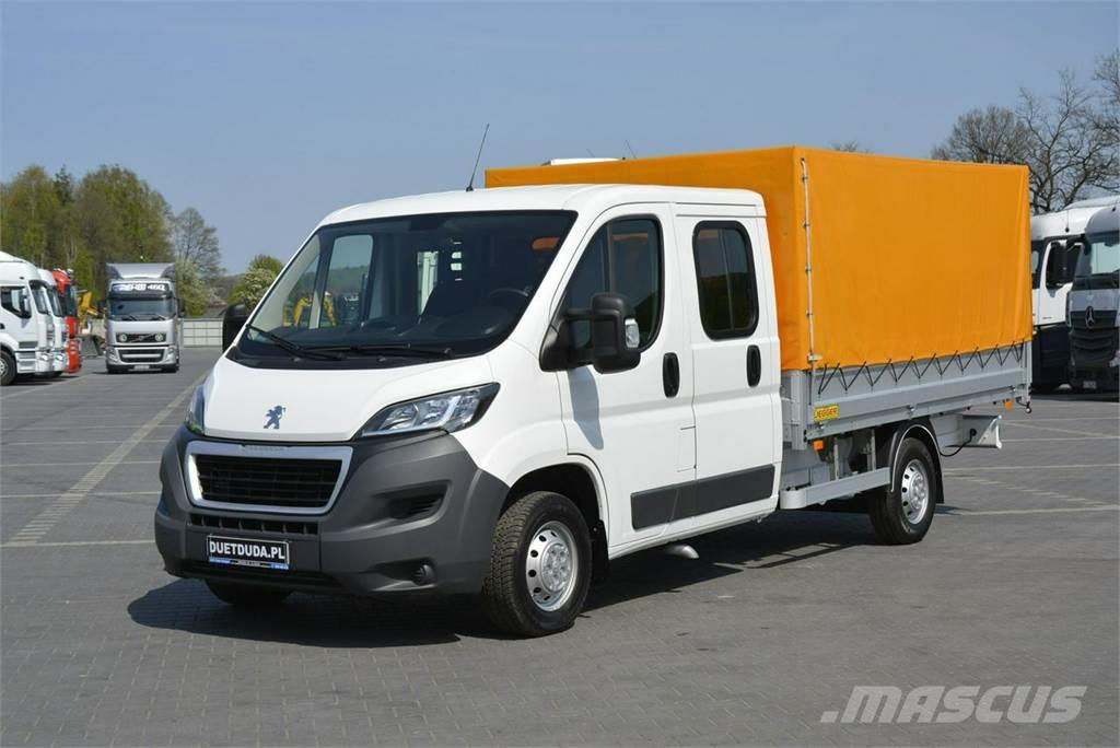 used peugeot boxer pickup trucks year 2015 price 19 095 for sale mascus usa. Black Bedroom Furniture Sets. Home Design Ideas