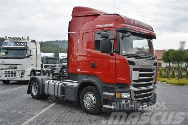 Scania R 410 Euro 6 Nowa Hydraulika Retarder