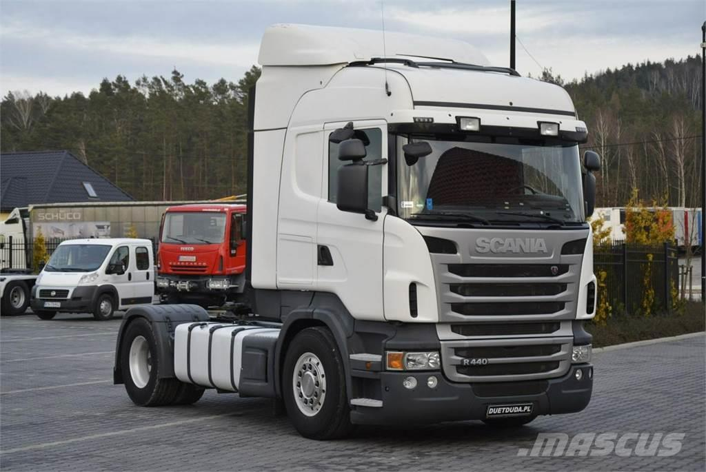 used scania r 440 e5 highline manual tractor units year 2011 price 20 171 for sale mascus usa. Black Bedroom Furniture Sets. Home Design Ideas