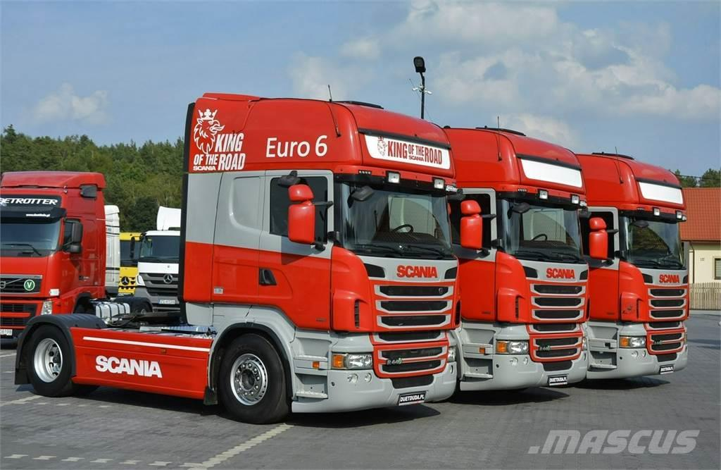 Scania R 440 Euro 6 E6 PDE z AdBlue / Retarder /