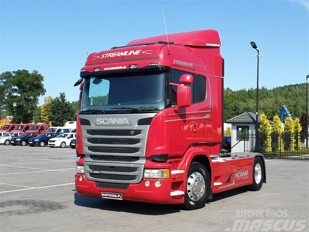 Scania R 450 Euro 6 E6 Streamline
