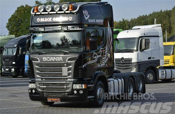 Scania R 560 V8 Topline E5 / 6x2 / 3 osie / BOOGIE
