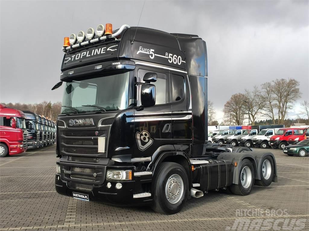 Scania R 560 V8 Topline E5 6x2 Dop. Masa 66.T Po Kontrakc