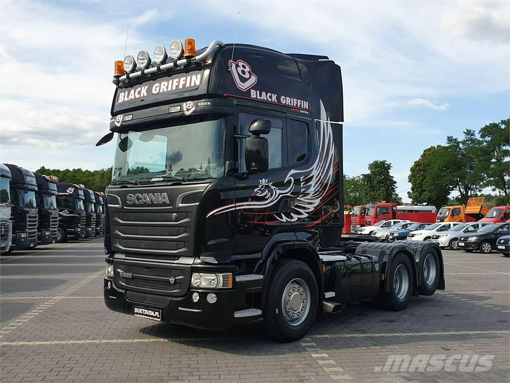 Scania R 560 V8 Topline E5 6x2 Dop. Masa 66.T