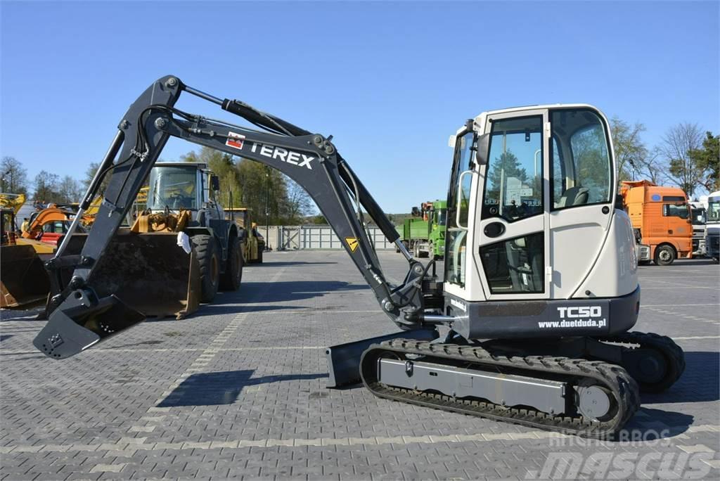 Terex Minikoparka TC50 2012r 5.1tony Jak Nowa Cat 305