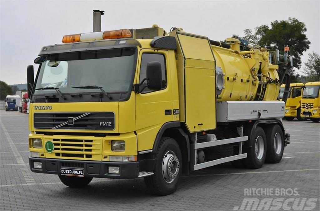 Volvo FM12 340 KM 6x2 WUKO Zabudowa FFG -