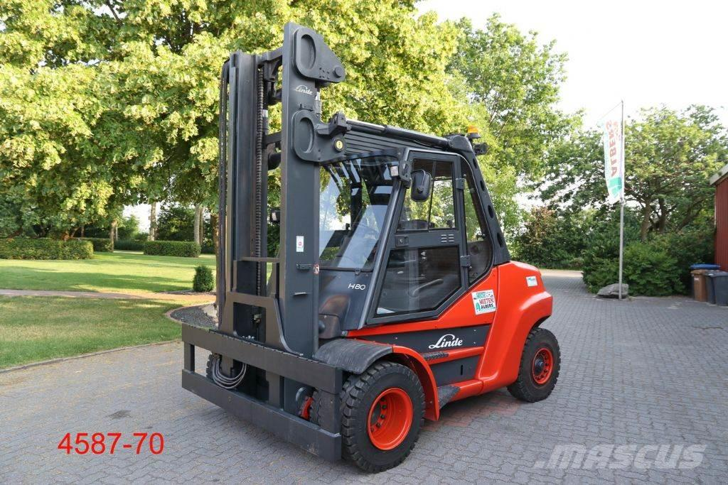 linde h 80 d 900 preis baujahr 2012 diesel. Black Bedroom Furniture Sets. Home Design Ideas
