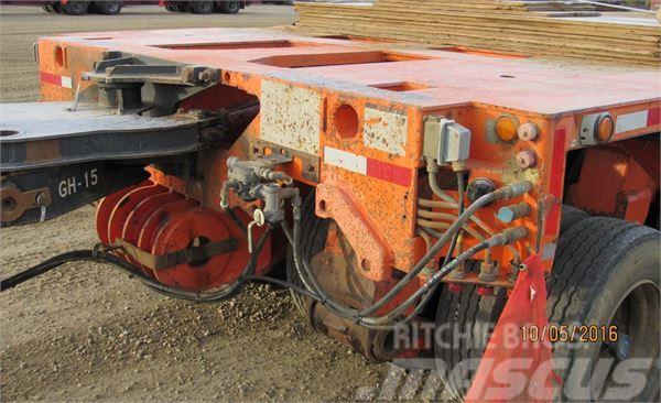 Hydraulic Platform Trailers : Used goldhofer hydraulic platform trailer other trailers