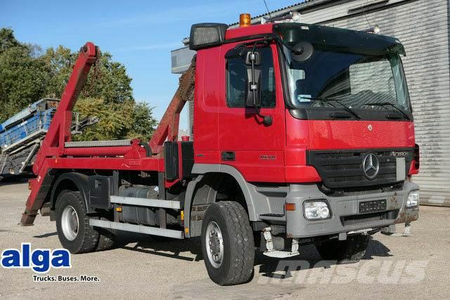LUECK SKF35, Stahl 50m3, 3-achser, Liftachse,Alu Felge