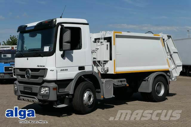 MERCEDES-BENZ 3340 6x4, Stahl 16m³,EURO 3, hydr. Heckklappe.