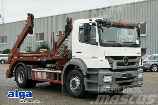 MERCEDES-BENZ 3340 Axor 6x4, 21 m³ Stahl, Schaltgetriebe!