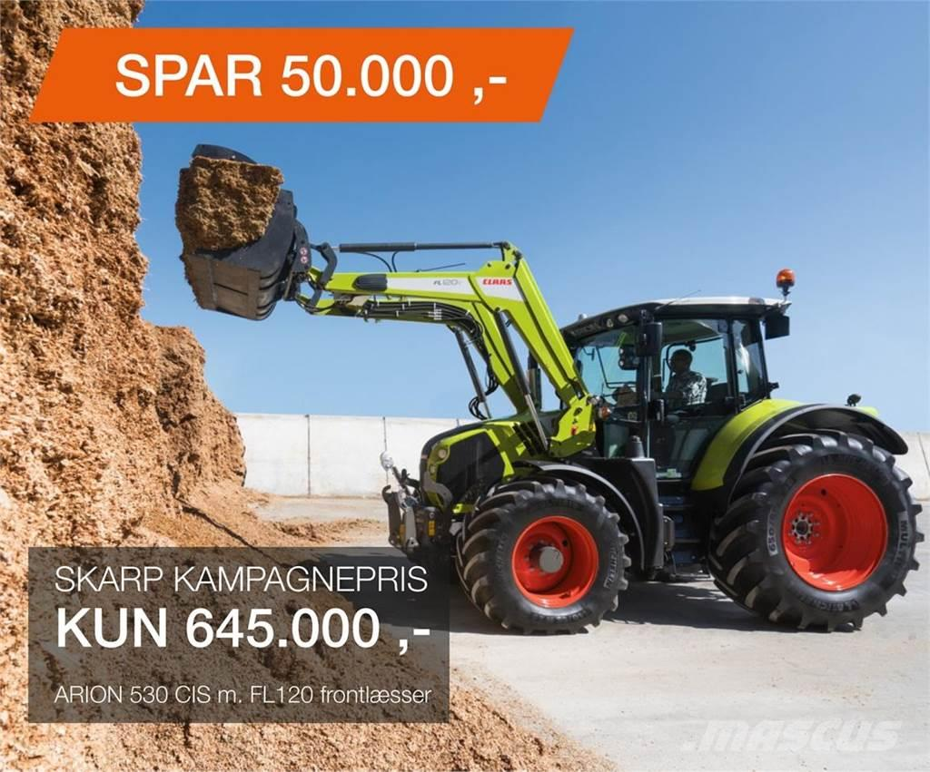 CLAAS ARION 530 M/FL120