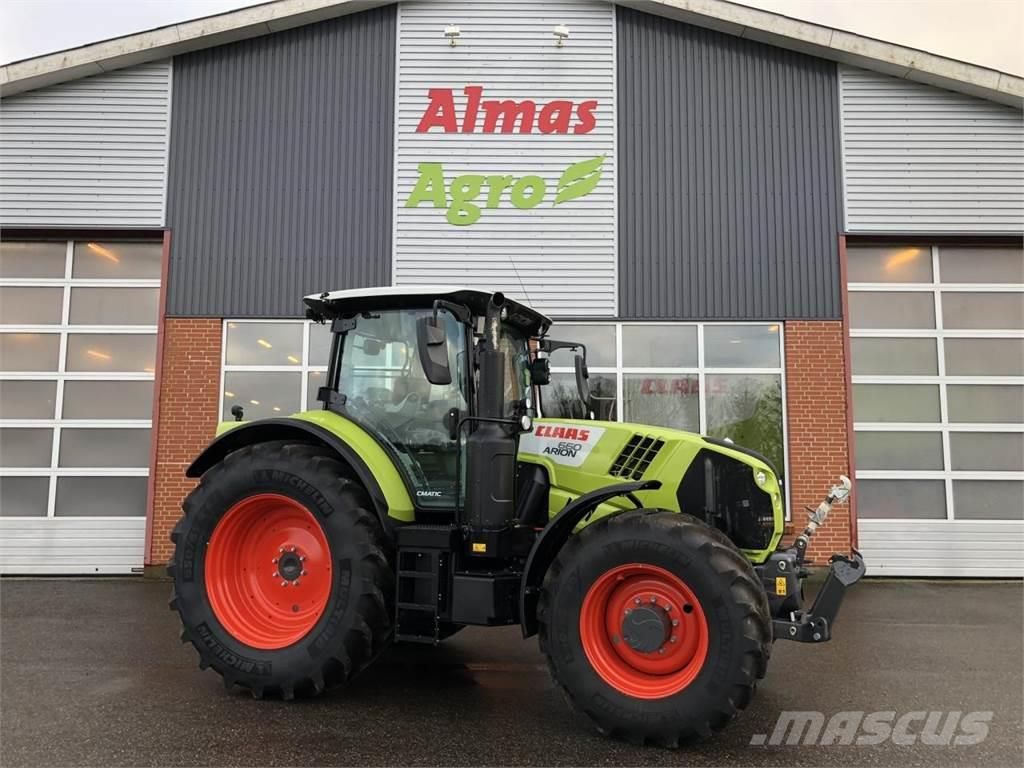 CLAAS ARION 660 CMATIC