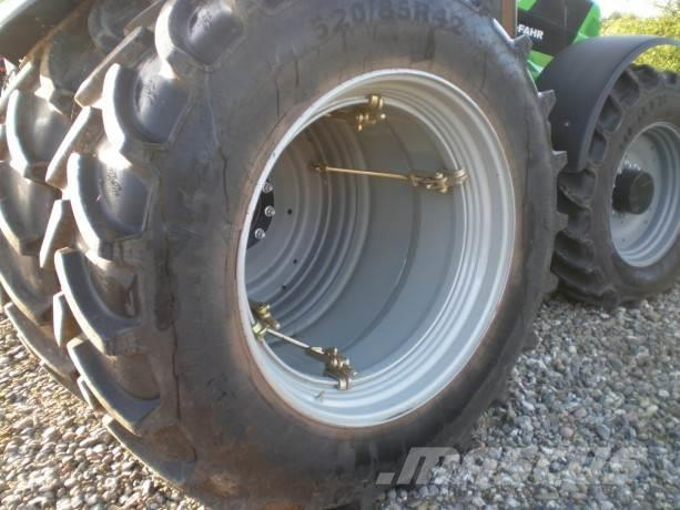 Alliance 520/85x42 Tvillingehjul med 8 stk låse