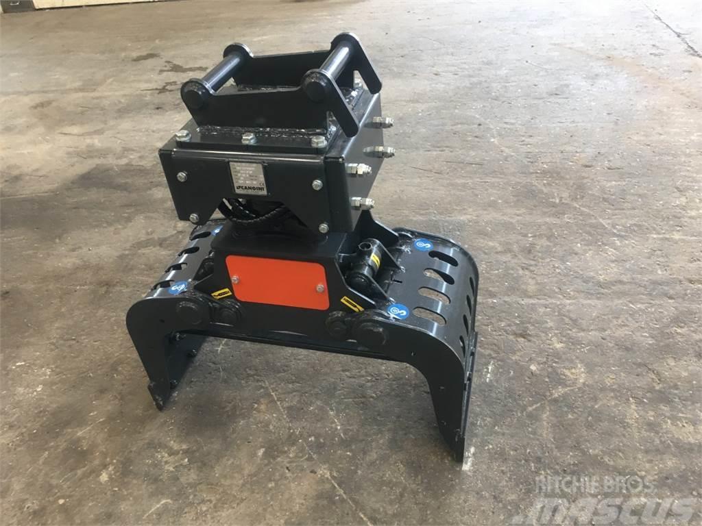 [Other] Kraftig sortgrab med rotor passer til 2-3 tons m