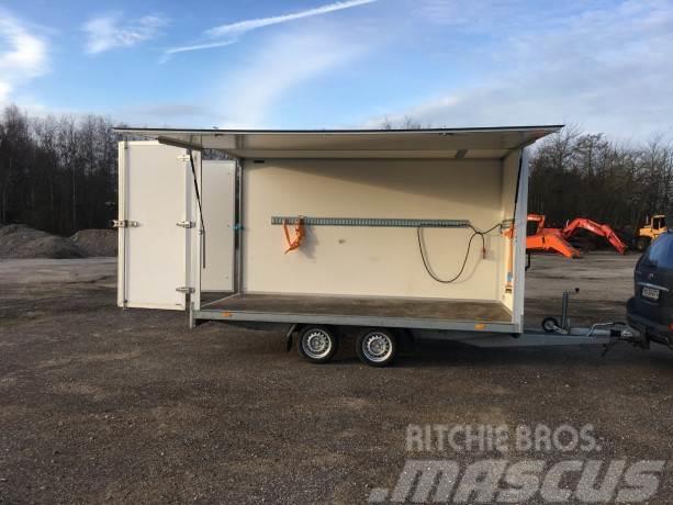 [Other] Næsten ny HAPERT BOX trailer HAPERT, AL-BOXVAN