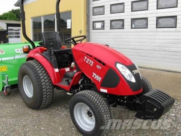 TYM Fabriksny Tym Minitraktor T276 HST med 4 wd træk Å