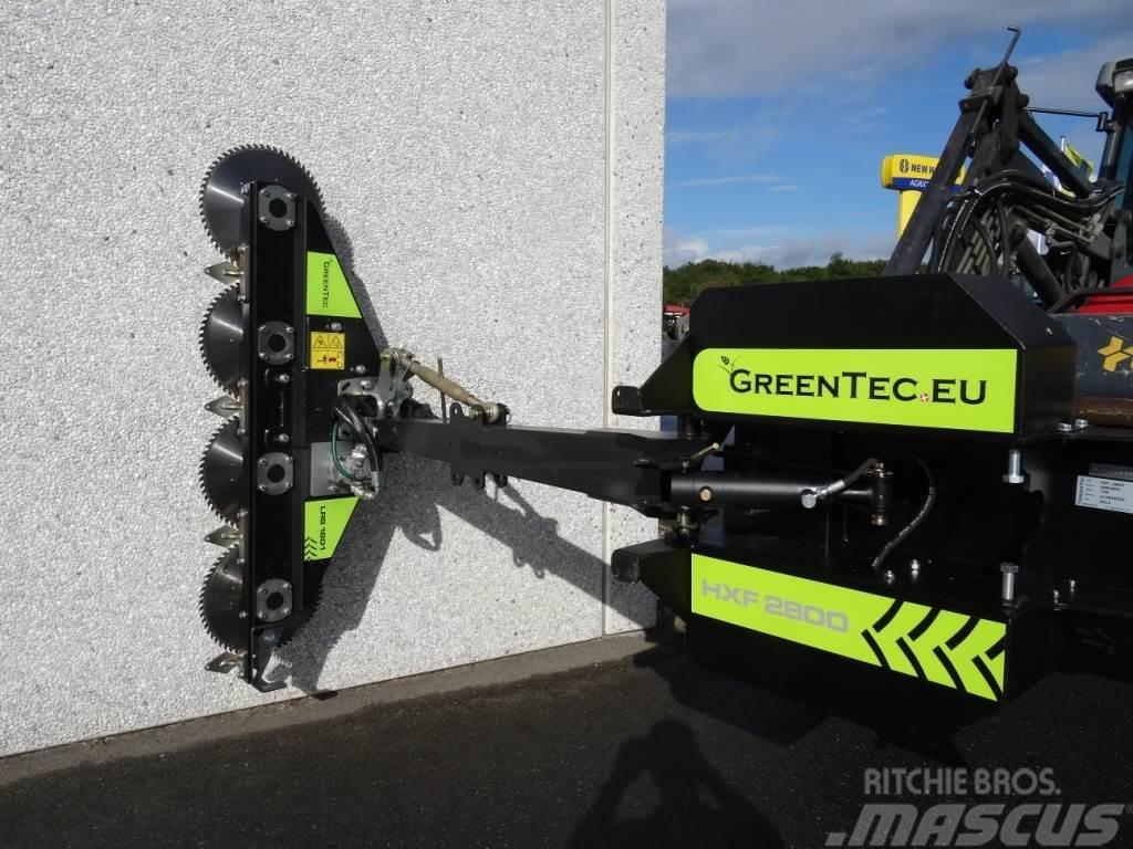 Greentec HXF 2802 Hegnsklipper med rundsave - PÅ LAGER