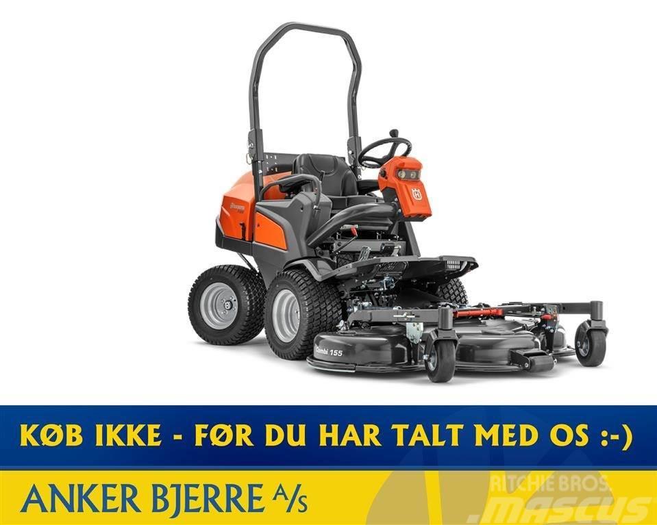 Husqvarna P 525D inkl. hydraulisk kit & 155 cm klippebord