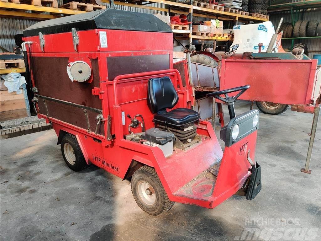 HTF Minilaster Diesel inkl. løvsuger og 3x skiftelad