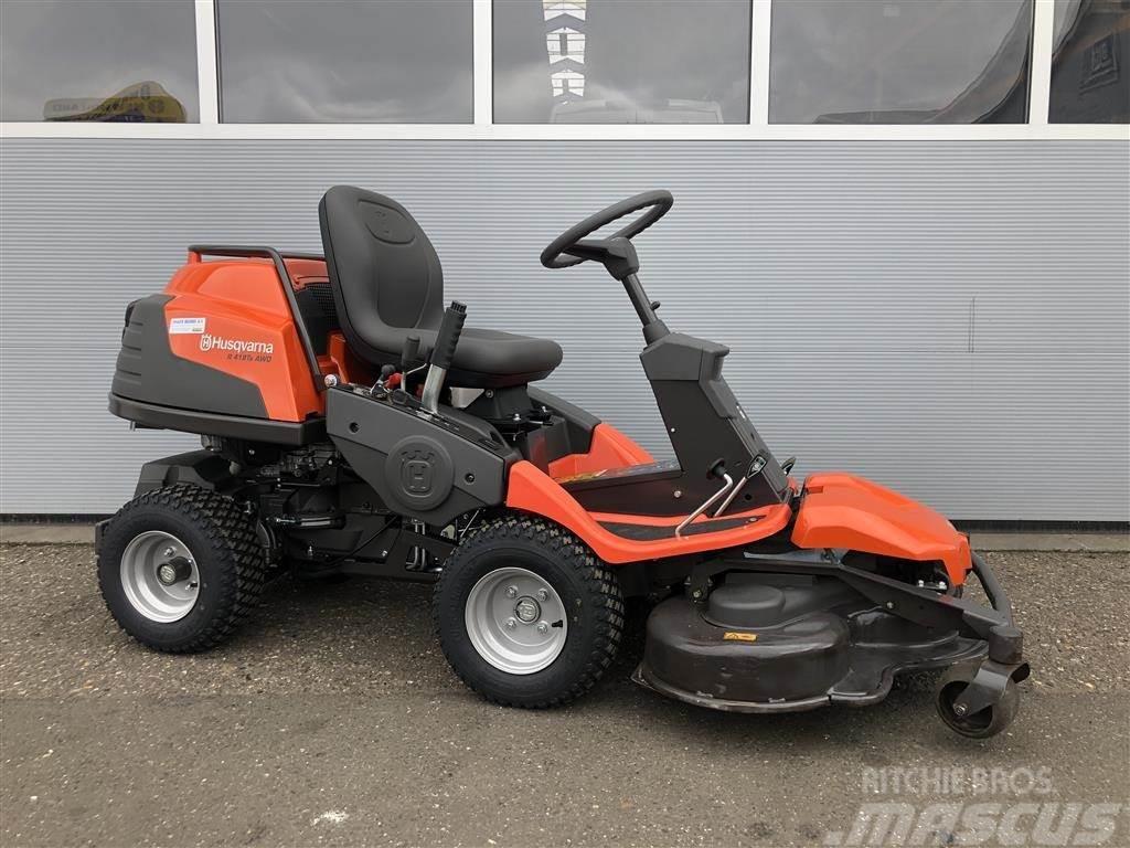 Husqvarna Rider R418Ts AWD Med demo 103 cm combi-klipper