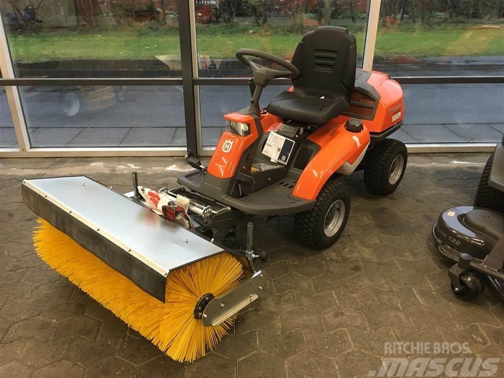 Husqvarna R316T AWD Med Karlo Nielsen kost