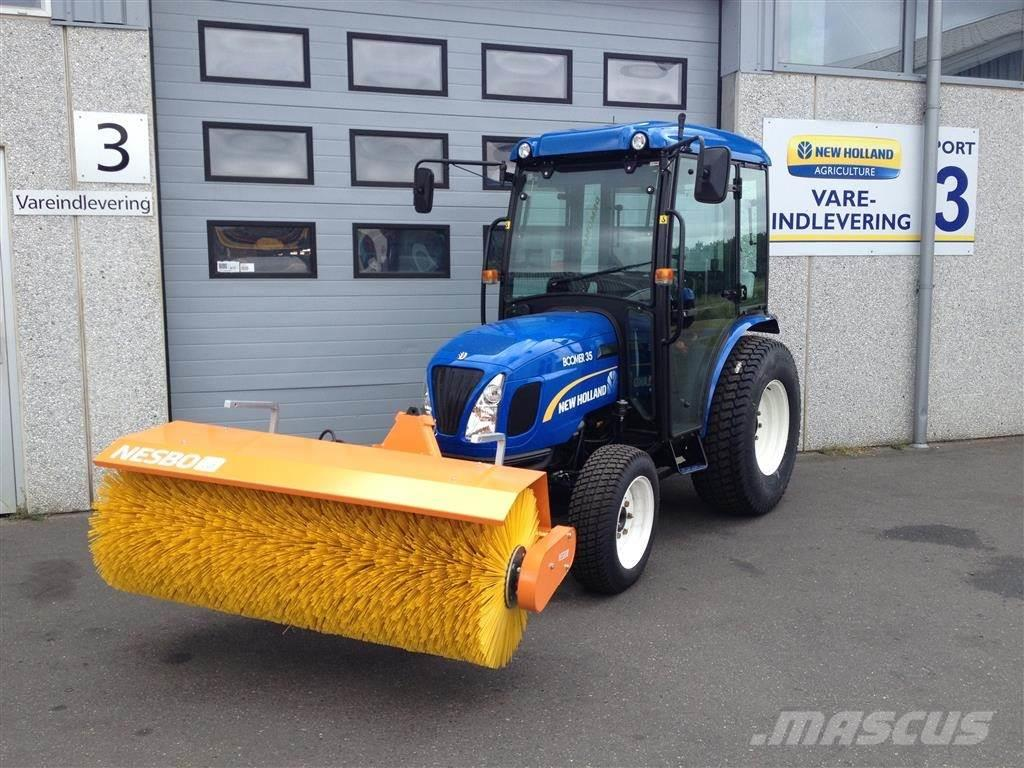 New Holland Boomer 35 med kost