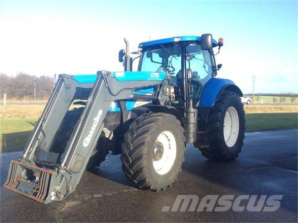 New Holland T6070 RC m. Q75 frontlæsser