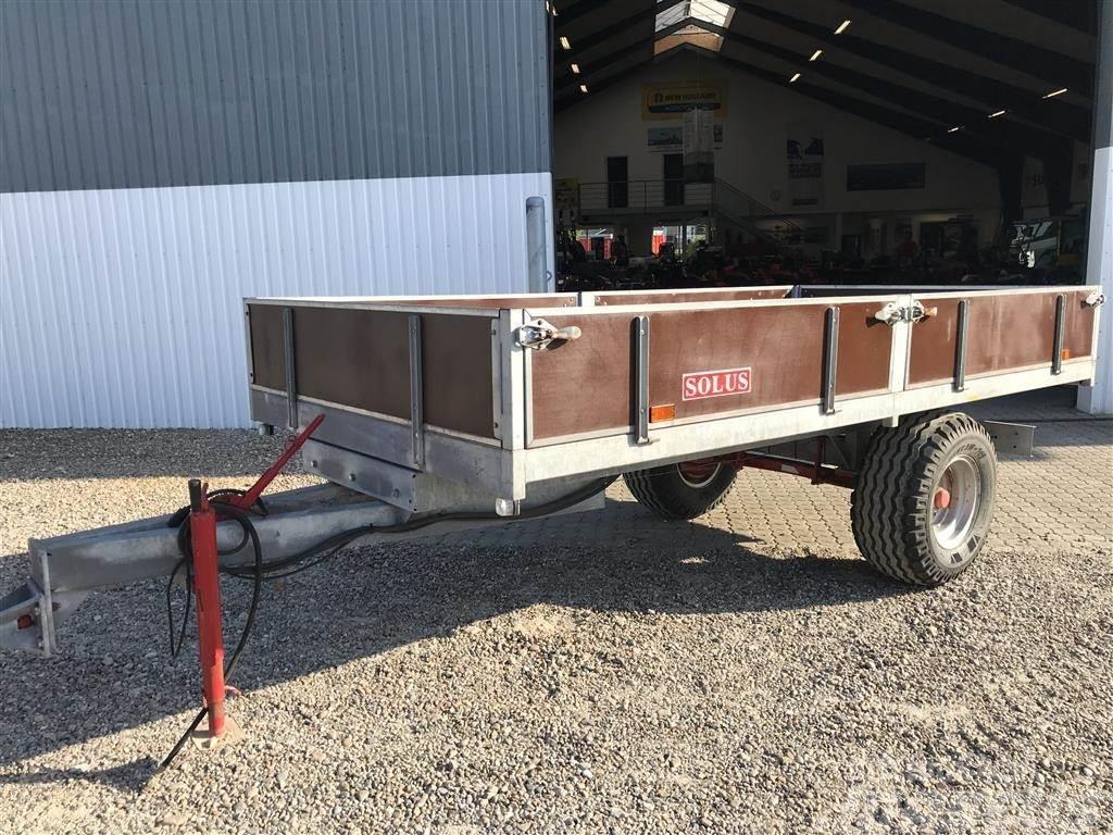 Solus 6 Tons med galv undervogn og stålbund