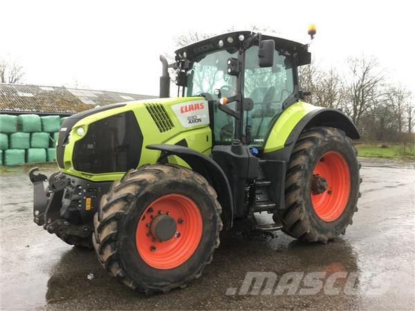 CLAAS AXION 830 CMATIC trinløs