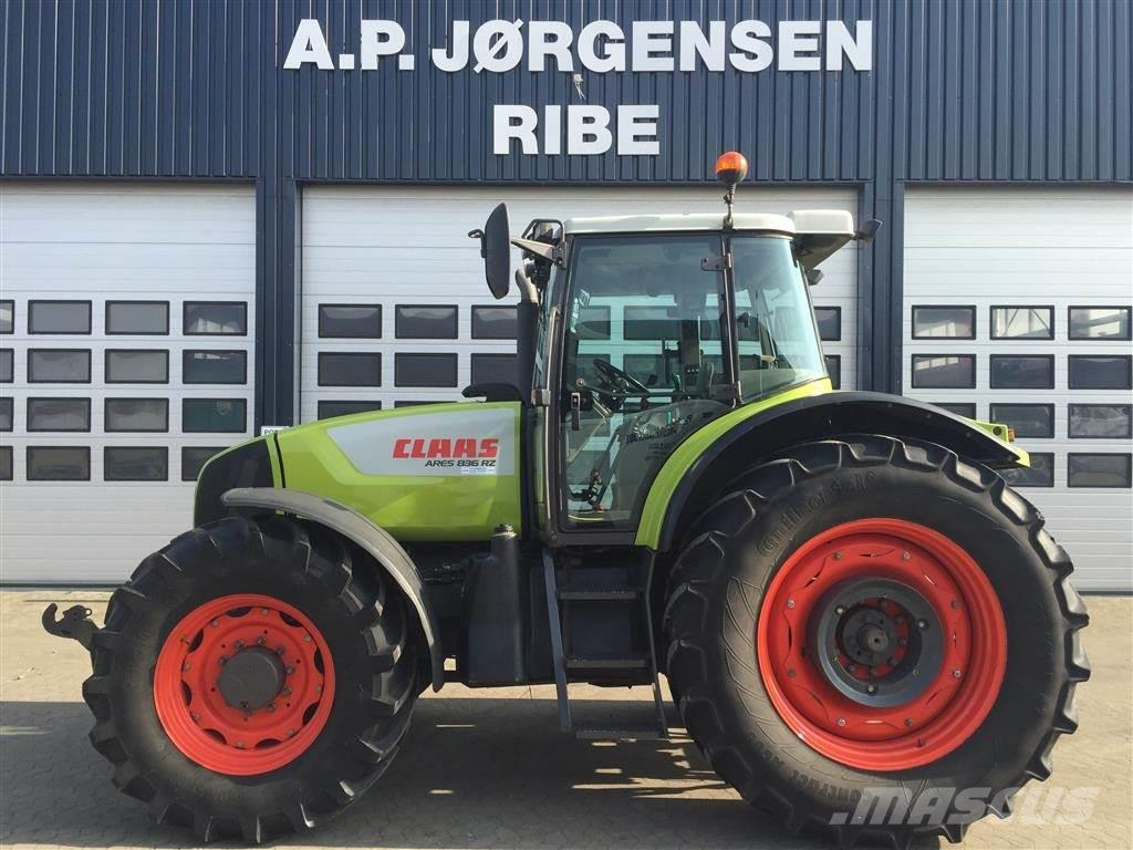 CLAAS ARES 836 RZ - tryklufts anlæg