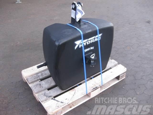 Hydrac 500 kg. Frontvægt