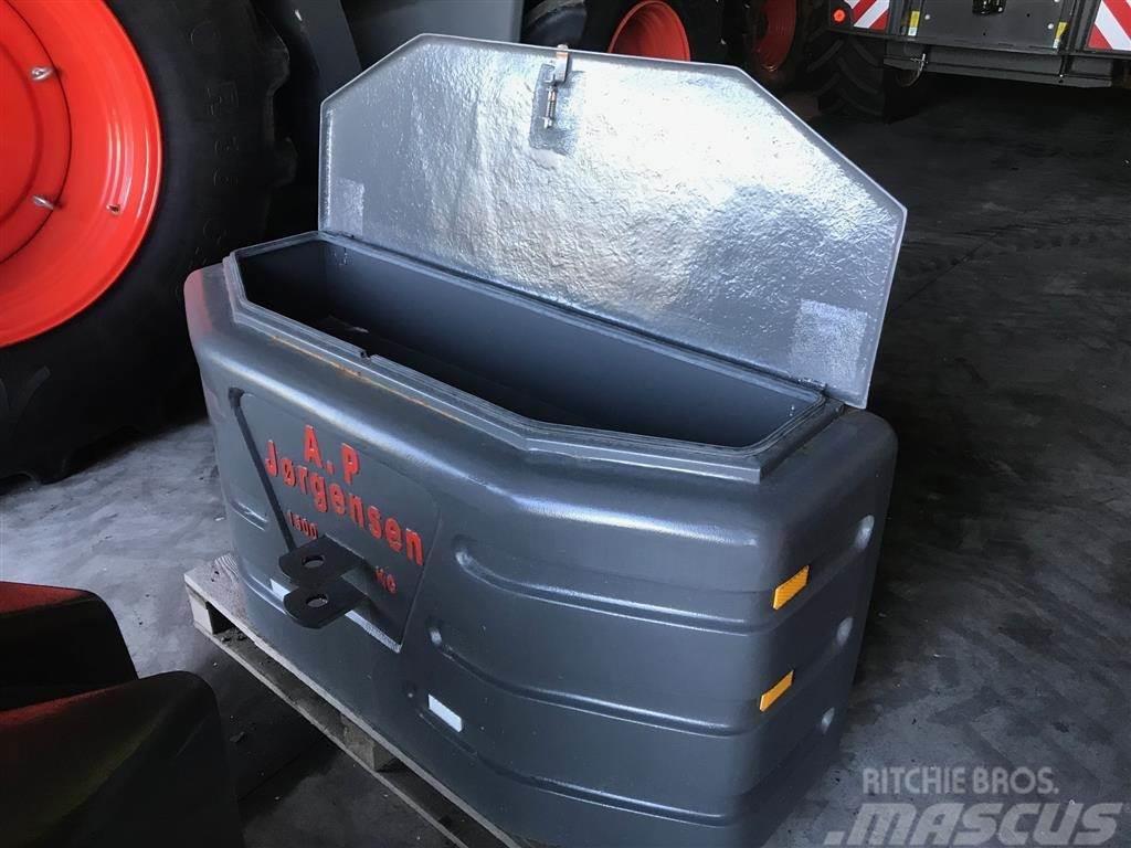 [Other] 1500 kg med værktøjskasse