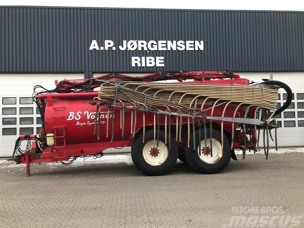 [Other] BS 21 T m/el-hydr kran Med 24 meter Harsø slangebo