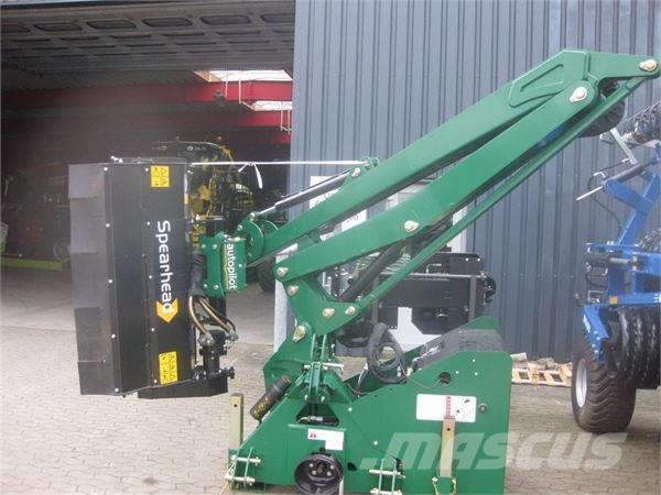 Spearhead Twiga MID 600 Inkl. MP 120G Slaglehoved 1,2m