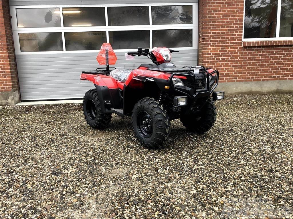 Honda TRX 520 FE Kan indregistreres som traktor