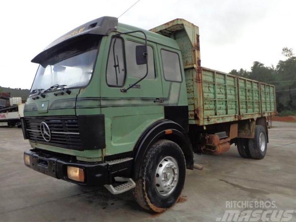 Mercedes-Benz truck - open body truck - dump truck, 1986 ...