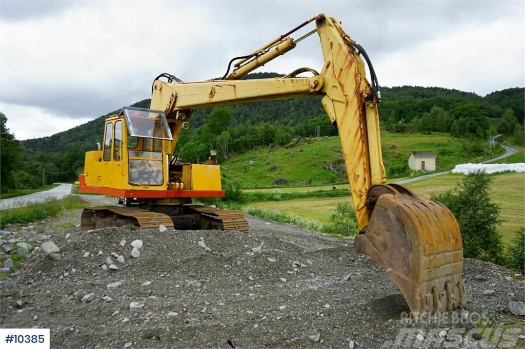 Brøyt X20T Excavator with bogie and good bucket. See hou