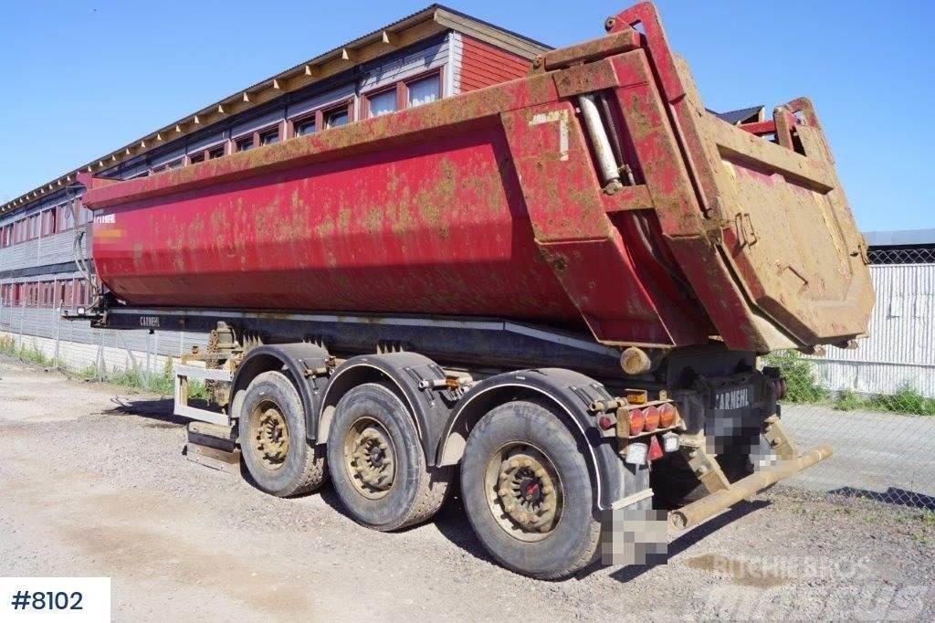 Carnehl 3 axle tipper trailer